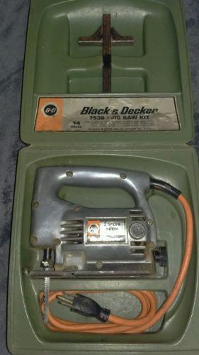 Classic Black & Decker 7536 jigsaw kit