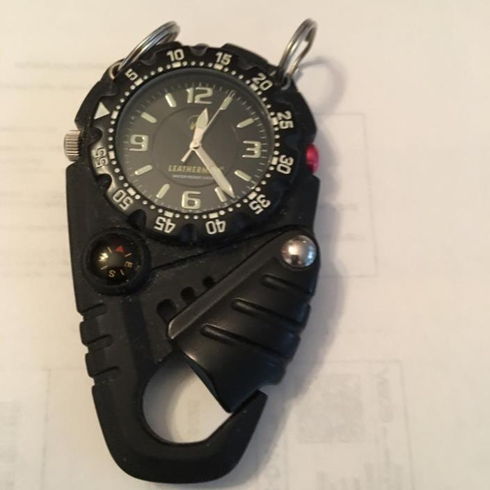 Clip on watch by Leatherman