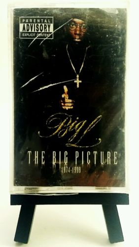 Big L - The Big Picture Cassette Tape New Sealed Classic OOP Hiphop DITC Rap 1st