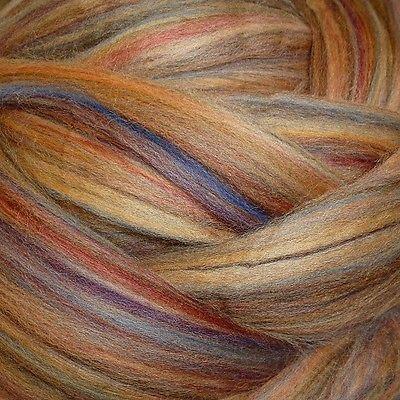 Merino Wool Top Roving Sandalwood 1 Pound