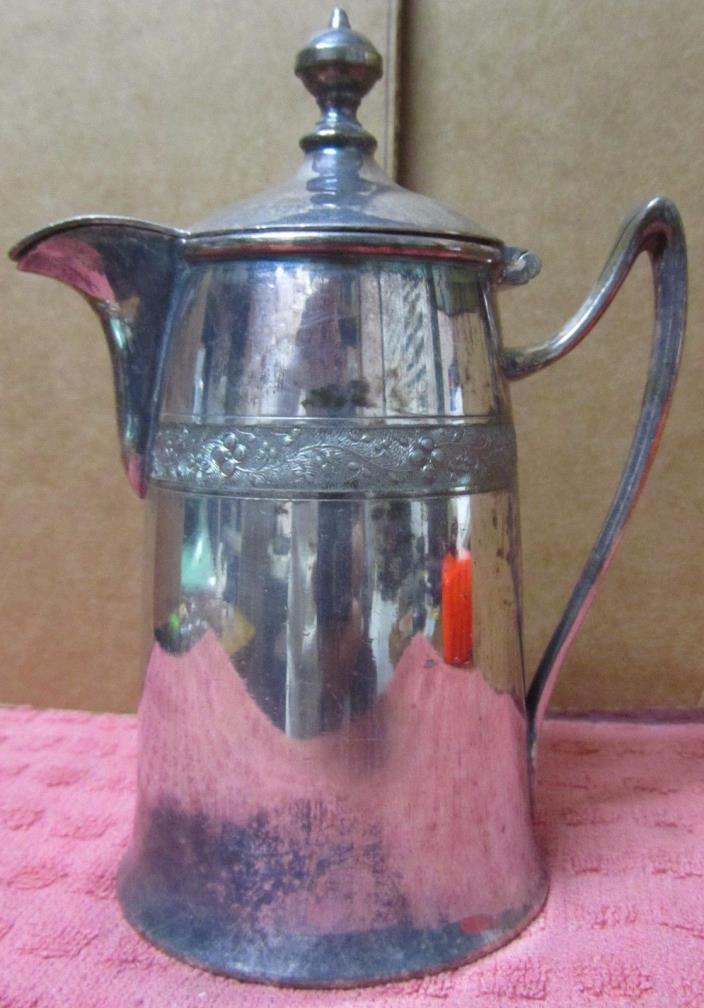 Vintage Reed & Barton 01670 Silverplate Lidded Creamer Free Shipping