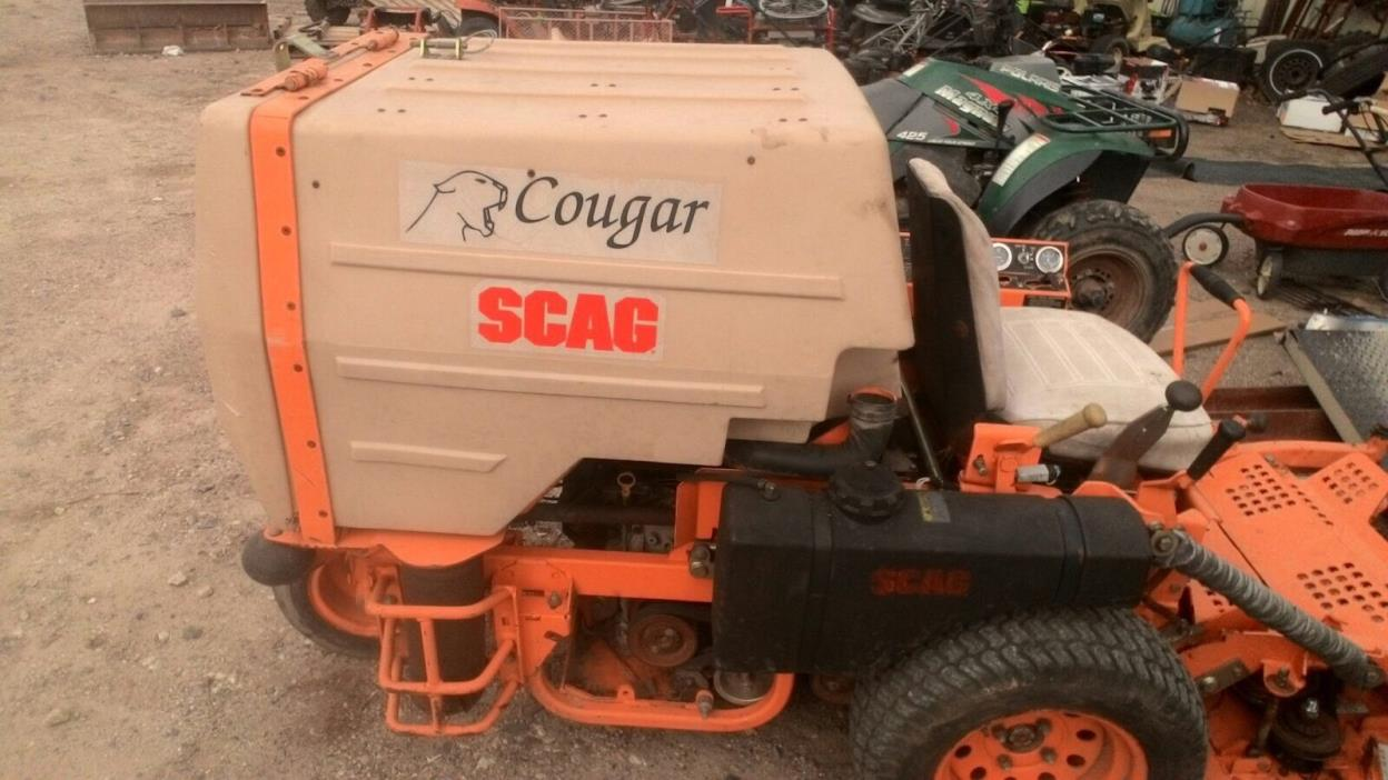 Scag Zero Turn SCR42-25 Cougar Compact Bagging Mower