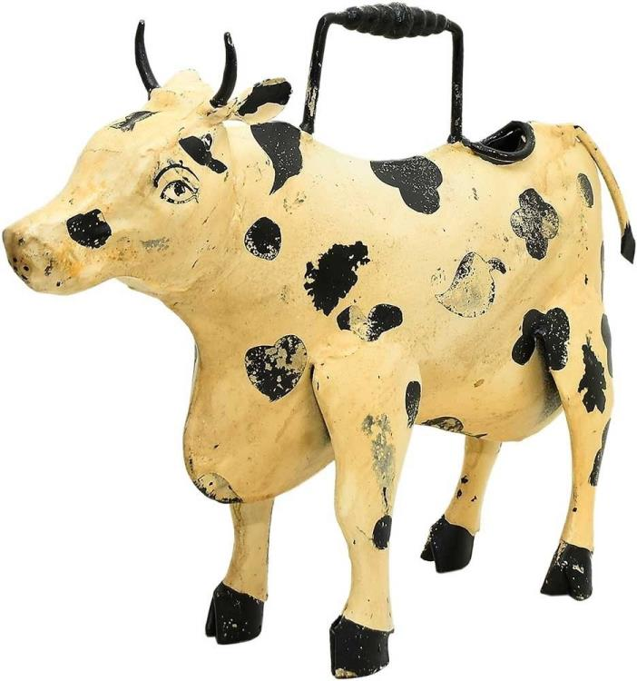 Vintage Addiction Cow Iron Watering Can