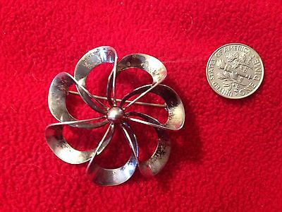 DENMARK DANISH NIELS ERIK FROM 925S MODERNIST BROOCH-PIN