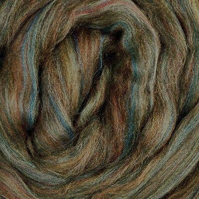 Merino Wool Top Roving Riverstone 1 Pound