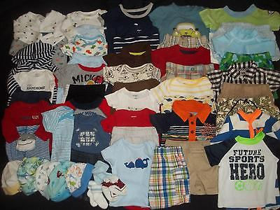 53 Baby Boys Newborn 0-3M 3-6M Spring Summer Clothes Outfit Lot NB 0 3 6 Months