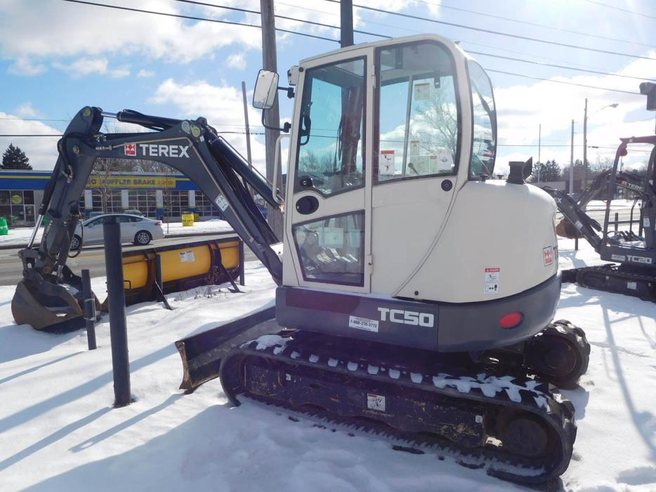 Terex TC50 Mini Excavator Crawler