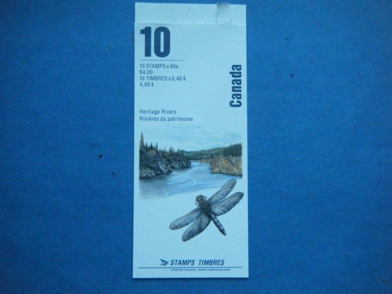 Canada MNH Heritage Rivers Booklet Lot#A28