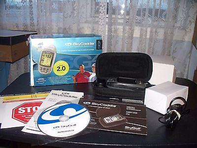Sky Golf Caddie  SG4  GPS  golf Range Finder  w/case