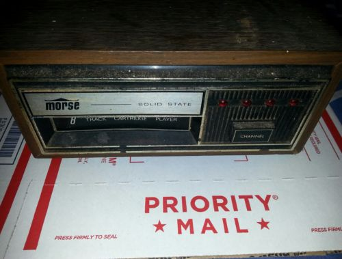 vintage morse made in JAPAN Eight 8-Track Player