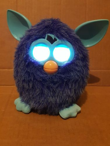 FURBY BOOM Interactive Teal Blue Plush Pet Interactive Toy TESTED