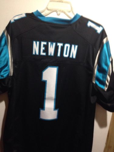 Men's NFL  Carolina Panthers Cam Newton Nike Black Limited Jersey