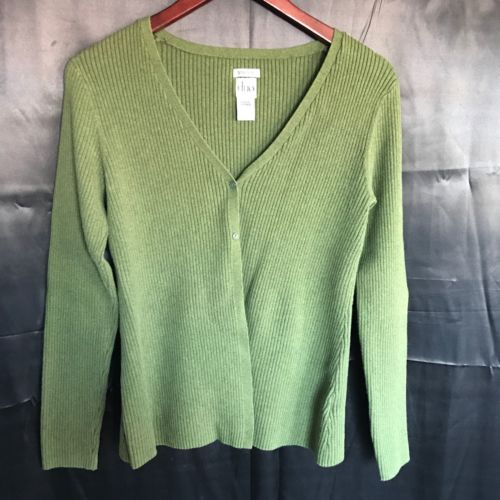 Duo Women's Maternity Green Sweater Size Large