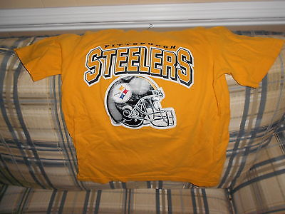 Pittsburgh Steelers gold  crewshirt youth jersey sz M (10-12)