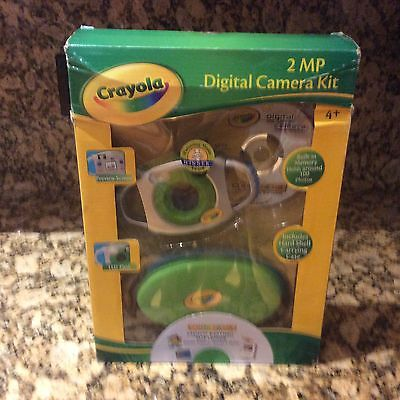 Crayola Digital Camera Kit New In Box 2 MP