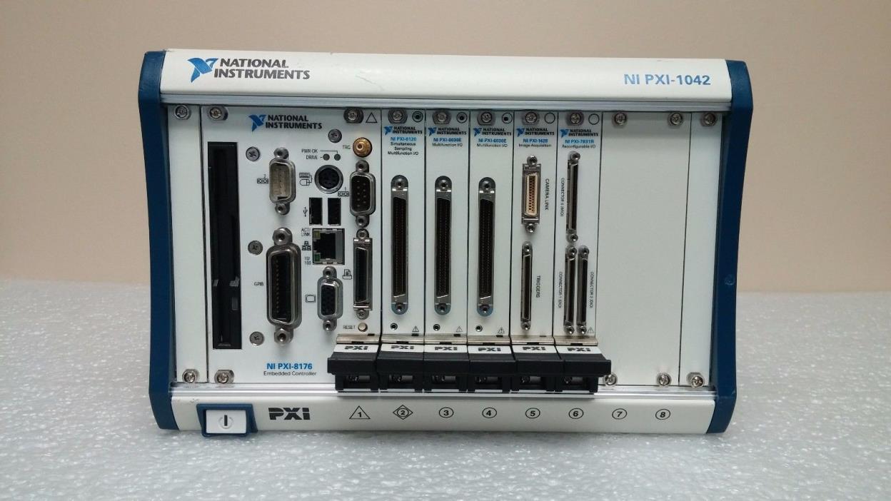 National Instruments Inc. NI PXI-1042, PXI-6120, PXI-6030E, PXI-1428, PXI-7831R