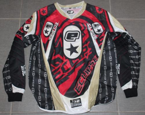 Men's PLANET ECLIPSE Padded Paintball Long Sleeve Jersey Shirt Sz. Y M/L