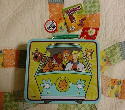 Scooby Doo Metal Lunch Box By Thermos NWT!!