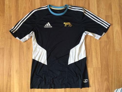 Adidas Argentina Pumas Rugby Shirt Gym Training
