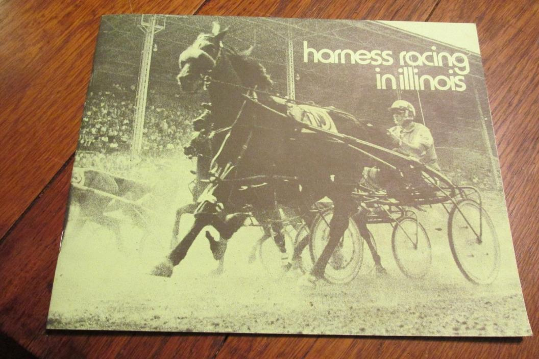 vintage County Fair IL Illinois Harness Racing Horse Program Stallions