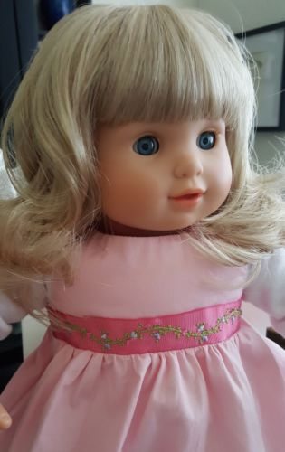 American Girl Bitty Twin Beautiful Blue Eyed Blonde Excellent Condition