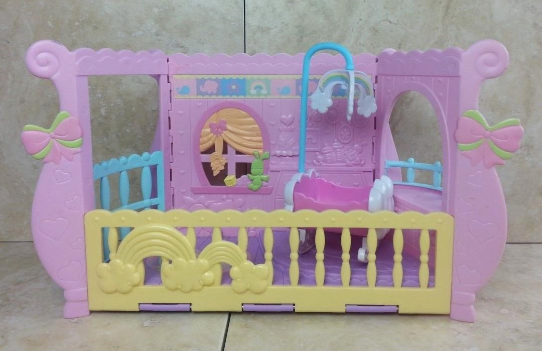 My Little Pony Newborn Cuties Nursery/Cradle w/Mobile Playset Hasbro 2008