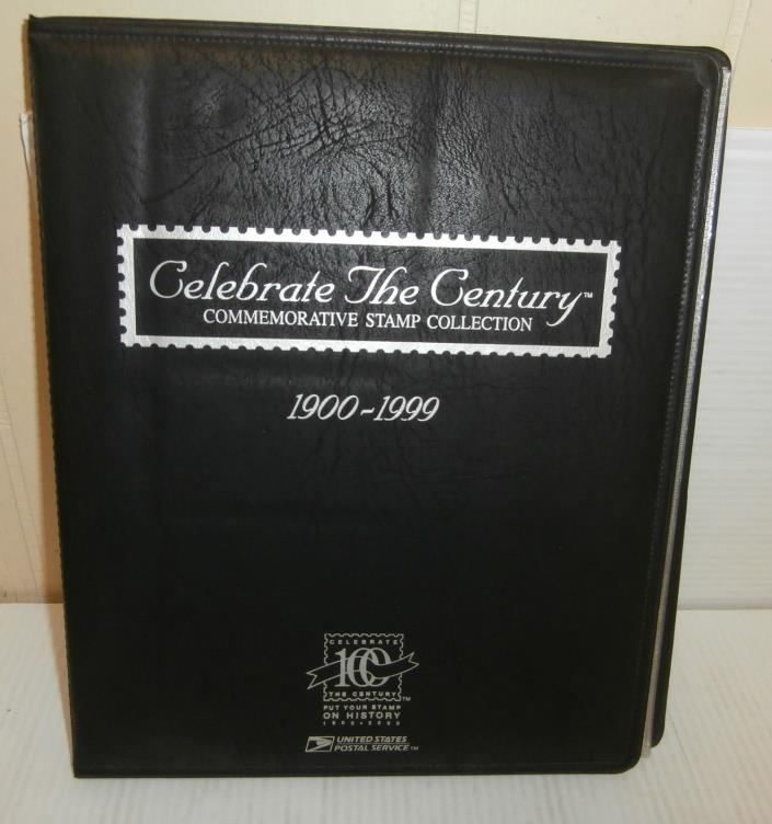 USPS Celebrate The Century Commemorative Stamp Collection 1900 - 1999 Full Set