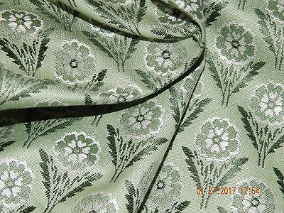 SCALAMANDRE SILK LAMPAS JACQUARD DITZY  UPHOLSTERY 6 YARDS  ONLY TO THE TRADE
