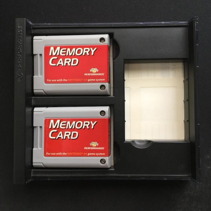 Performance Memory Card/Pak, Nintendo 64/N64, [FOR PARTS]