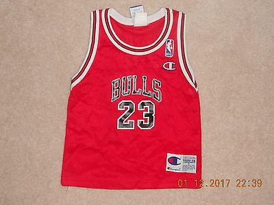 Chicago Bulls Basketball Jersey Michael Jordan #23 Champion Baby Toddler 4T Mint