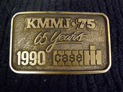 Vintage - 1990 - IH International Case Belt Bucke - Tractor - Radio