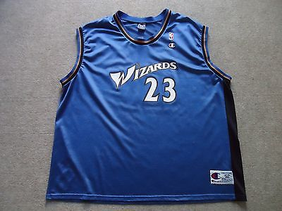 Vintage Champion Michael Jordan Washington Wizards basketball jersey NBA 52