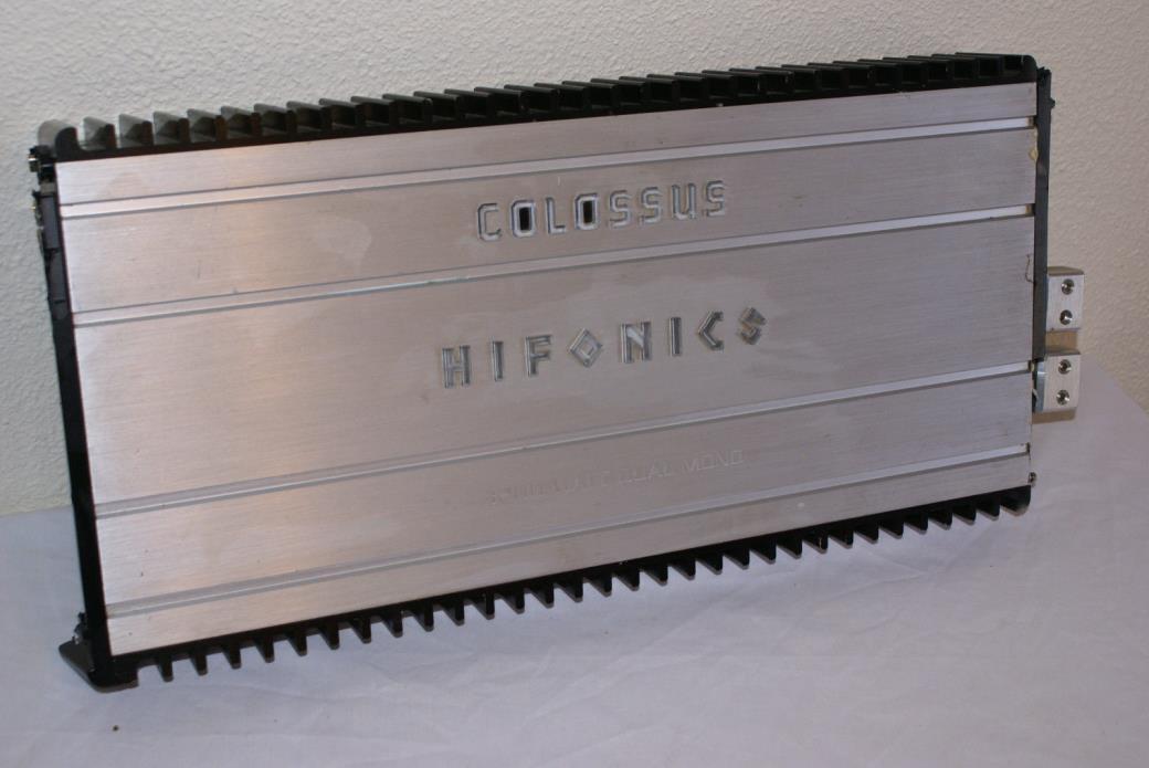 Hifonics Colossus 35th Aniv 3200w Dual Mono Car Amplifier Amp w/ Toolmaker input