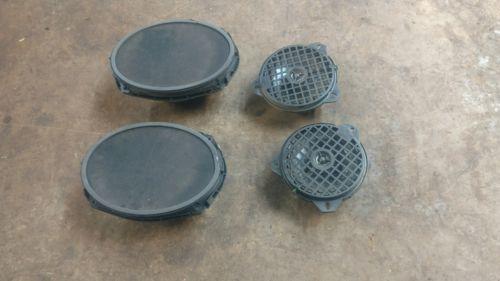 Set of 4 2003 dodge ram infinity speakers quad cab