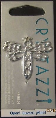 Dragonfly Bead Frane Pendant   /  CRYSTAZZI #4846804