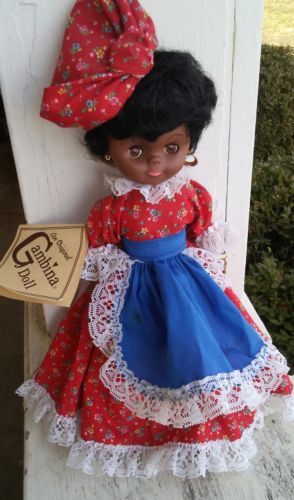 An Original Gambina Doll - hand made in New Orleans - 2005