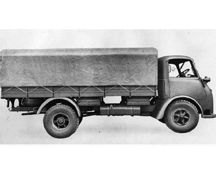 1952 Alfa Romeo Stake Truck Factory ca6068