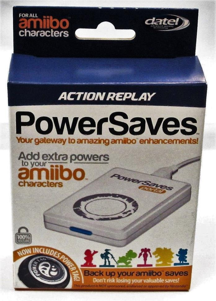 Datel Action Replay Power Saves (Amiibo Version) INCLUDES POWAR TAG