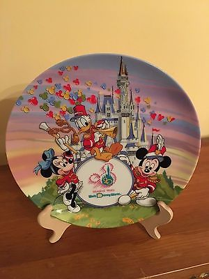 Disney Strike Up the Band 20 Magical Years Anniversary Collectible Plate