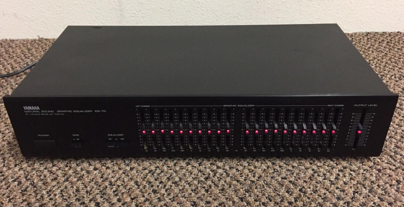 Yamaha Graphic Equalizer - For Sale Classifieds