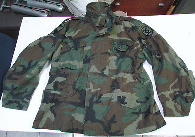 US Army Airborne Mens Jacket – Large Short