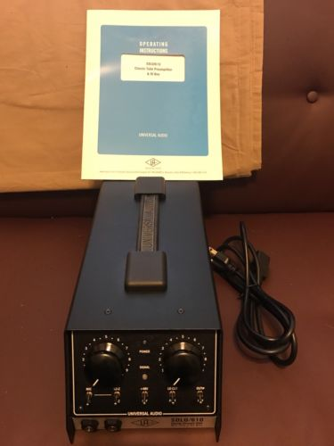 Mic Preamp Universal Audio Solo/610