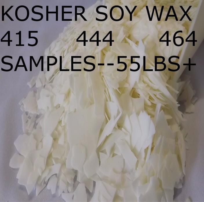 Soy Wax Flakes 415 444 464 samples, 2,4,6,8,16,1,2,3,4,5,10,15,20,25,50 oz lb