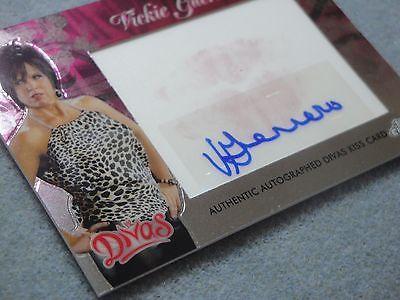 2014 Topps WWE Chrome Vicki Guerrero Autograph Diva Kiss Card Auto SPP!!!