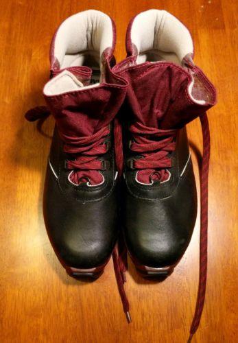 Salomon SNS 411 Profil Cross Country Ski Boots Mens 41 EU Unisex Leather