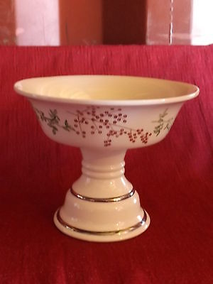 Ivory Pedestal large bowl