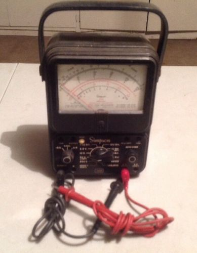 Simpson 260 Multimeter Series AFP-1