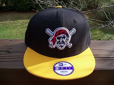 MLB PITTSBURGH PIRATES New Era 9Fifty YOUTH/KIDS Adjustable SNAPBACK Hat