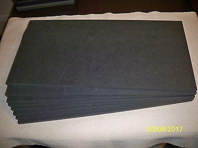 Black Gator Board 11 7/8'' x 24 1/8'' (8 per box) Non-Adhesive