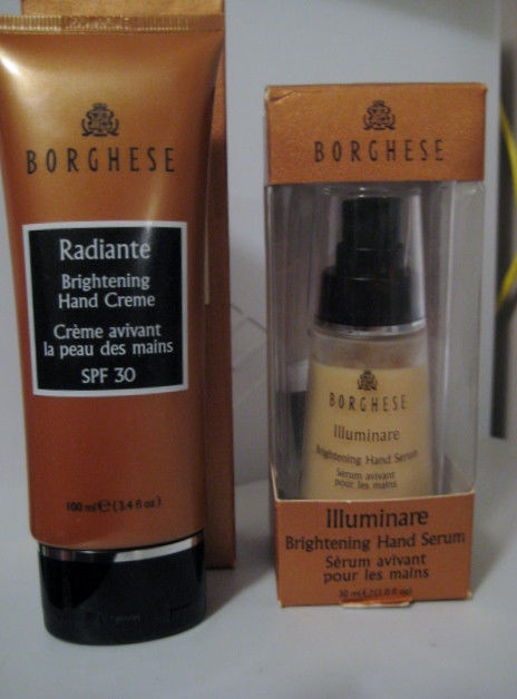 BORGHESE Radiante Brightening Hand Serum & Hand Cream SPF 30